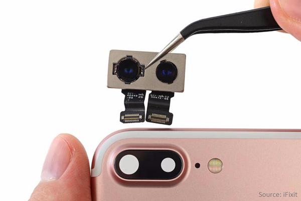 dual camera pic