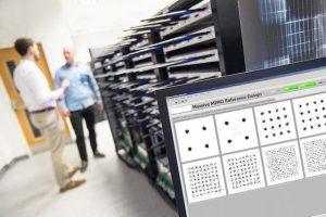 תמונה 3. מערכת ישומי MIMO העניקה לצוות המחקר של אוניבסיטאות בריסטול ולונד יתרון בפיתוח בשל השמוש בתוכנה פתוחה ו-IP של FPGA הפועל בזמן אמת
